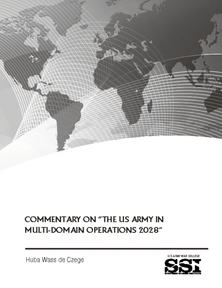 "Commentary On ""the Us Army In Multi-domain   N Operations 2028"""