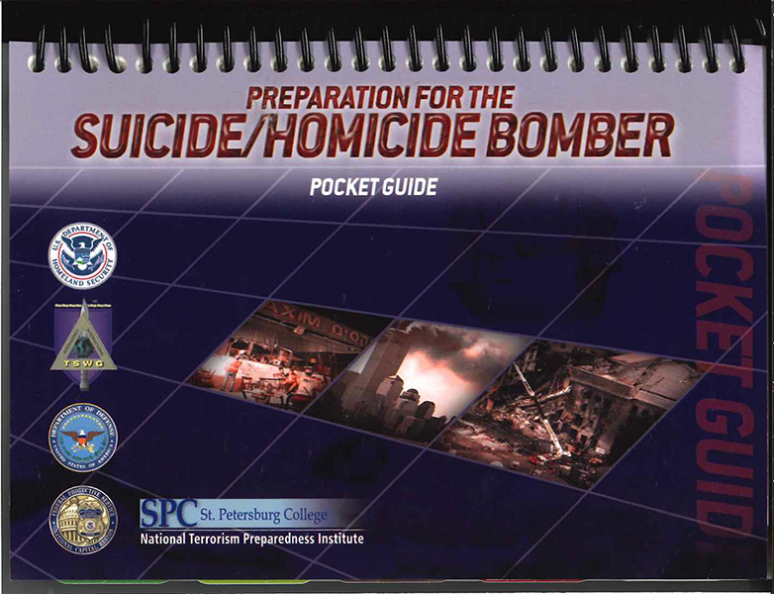 Preparation for the Suicide/Homicide Bomber Training Support Package (Controlled Item)
