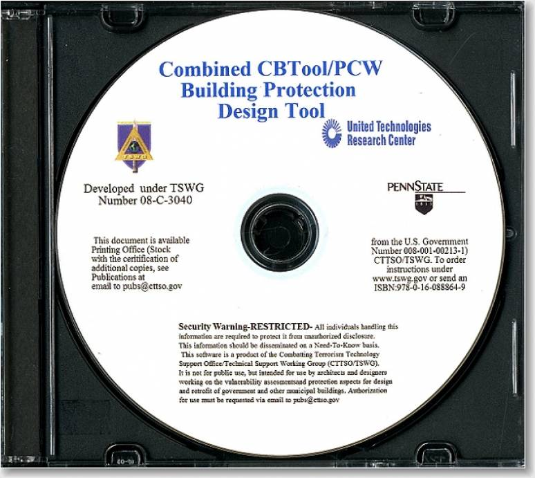 Combined CBTool/PCW Building Protection Design Tool (TSWG Controlled Item) (CD-ROM)