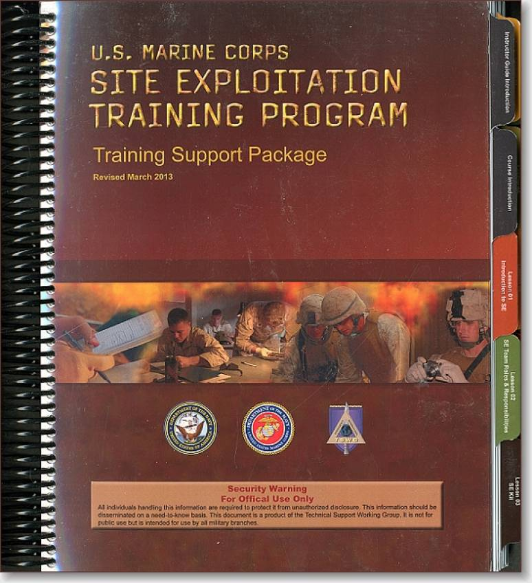 Tactical Site Exploitation (TSE) Training Support Package (TSWG Controlled Item)