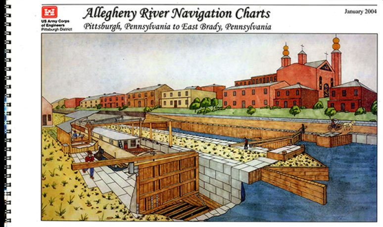 Allegheny River Navigation Charts, Pittsburgh, Pennsylvania to East Brady, Pennsylvania (Pittsburgh District) (2004)