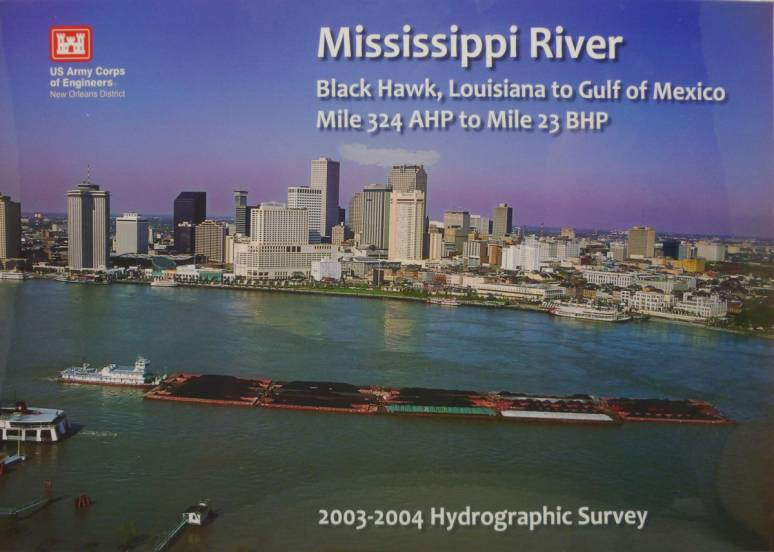 Mississippi River Black Hawk, Louisiana to Gulf of Mexico: Mile 324 AHP to Mile 23 BHP 2003-2004 Hydrographic Survey