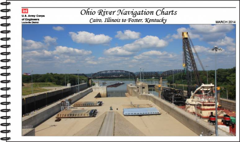 Ohio River Navigation Charts: Cairo, Illinois to Foster, Kentucky
