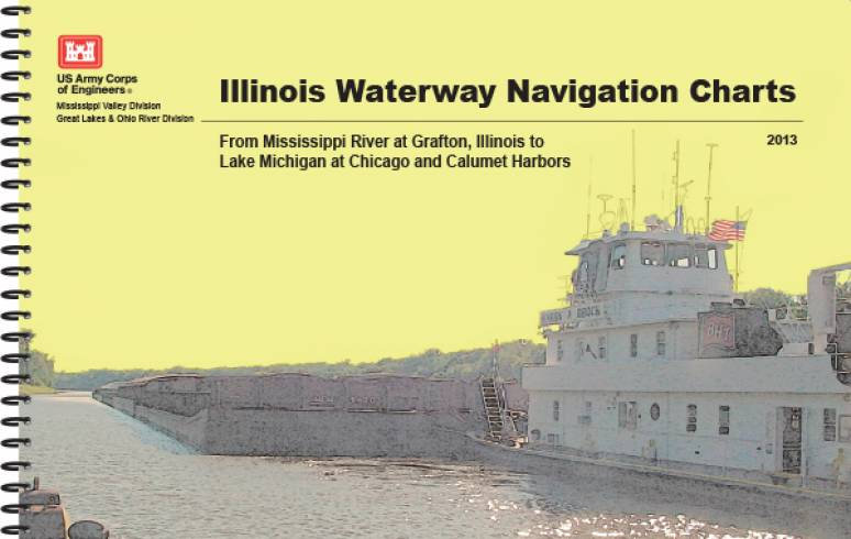 Illinois Waterway Navigation Charts From Mississippi River to Graton Illinois