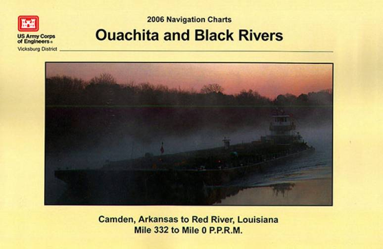 Ouachita and Black Rivers, Camden, Arkansas to Red River Louisiana, Mile 332 to Mile 0 P.P.R.M.