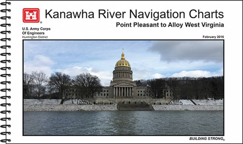 Kanawha River Navigation Charts: Point Pleasant to Alloy, West Virginia (2016)