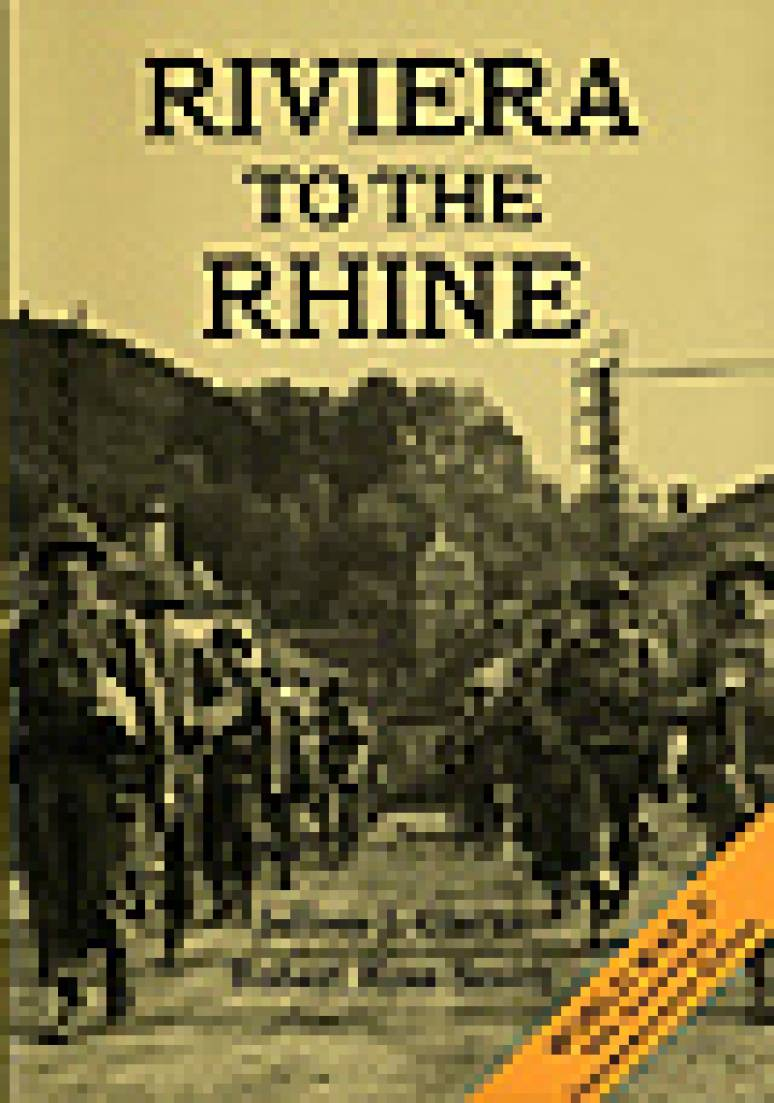 United States Army in World War 2, European Theater of Operations: The Riviera to the Rhine (Paperbound)