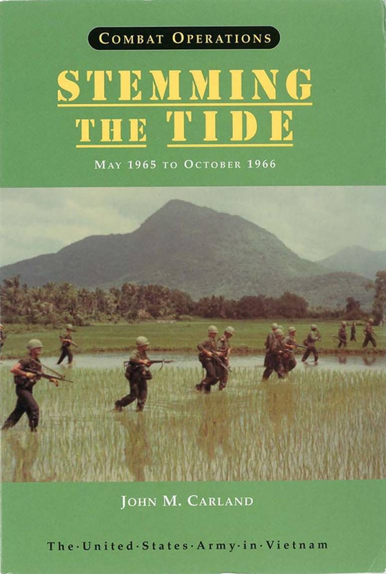 Combat Operations: Stemming the Tide, May 1965 to October 1966 (Paperback)