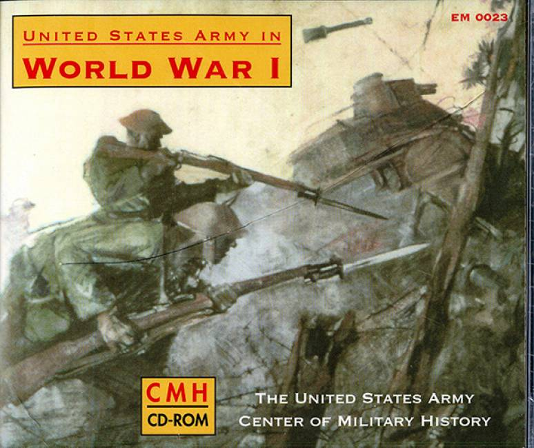 United States Army in World War I (2001) (CD-ROM)