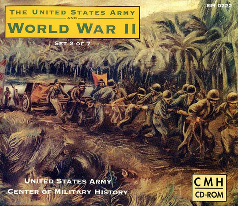 United States Army And World War 2, Asiatic Pacific Theater (CD ROM Set)