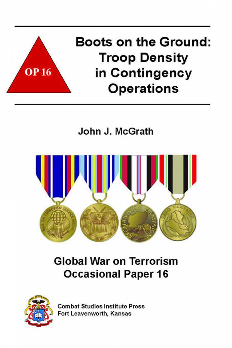 Boots on the Ground: Troop Density in Contingency Operations (eBook)