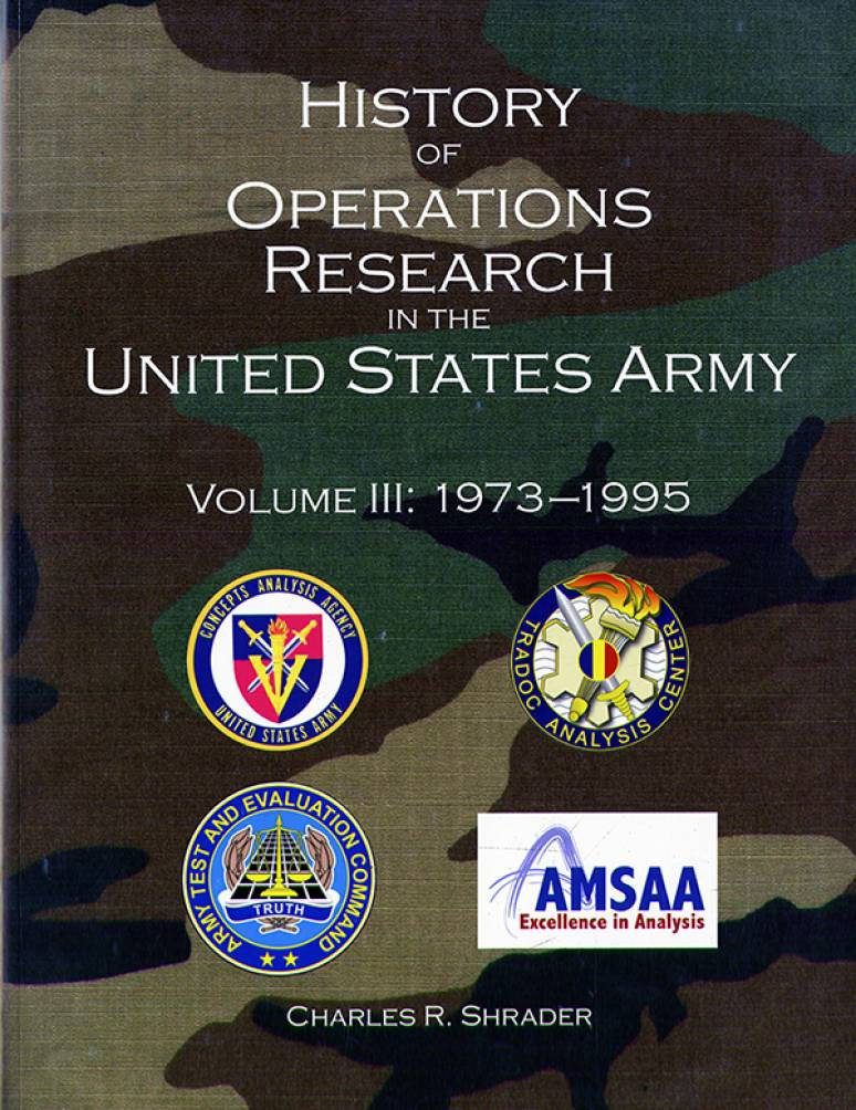 History of Operations Research in the United States Army, V. 3, 1973-1995 (eBook)
