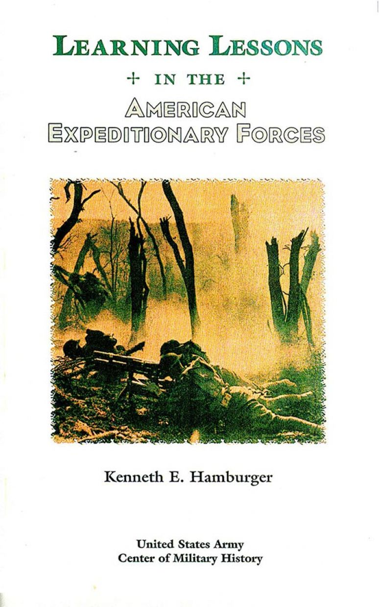 Learning Lessons In The American Expeditionary Forces