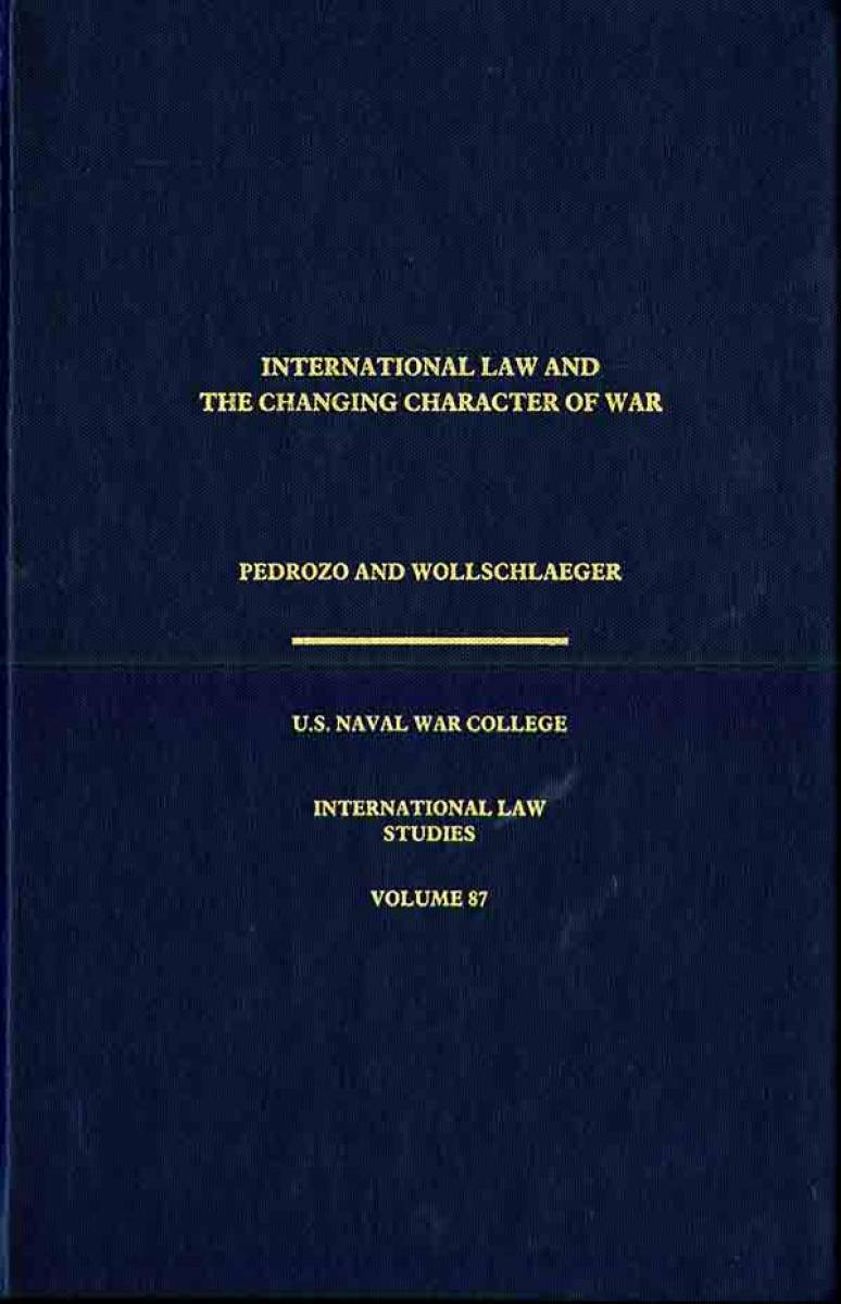 International Law and the Changing Character of War