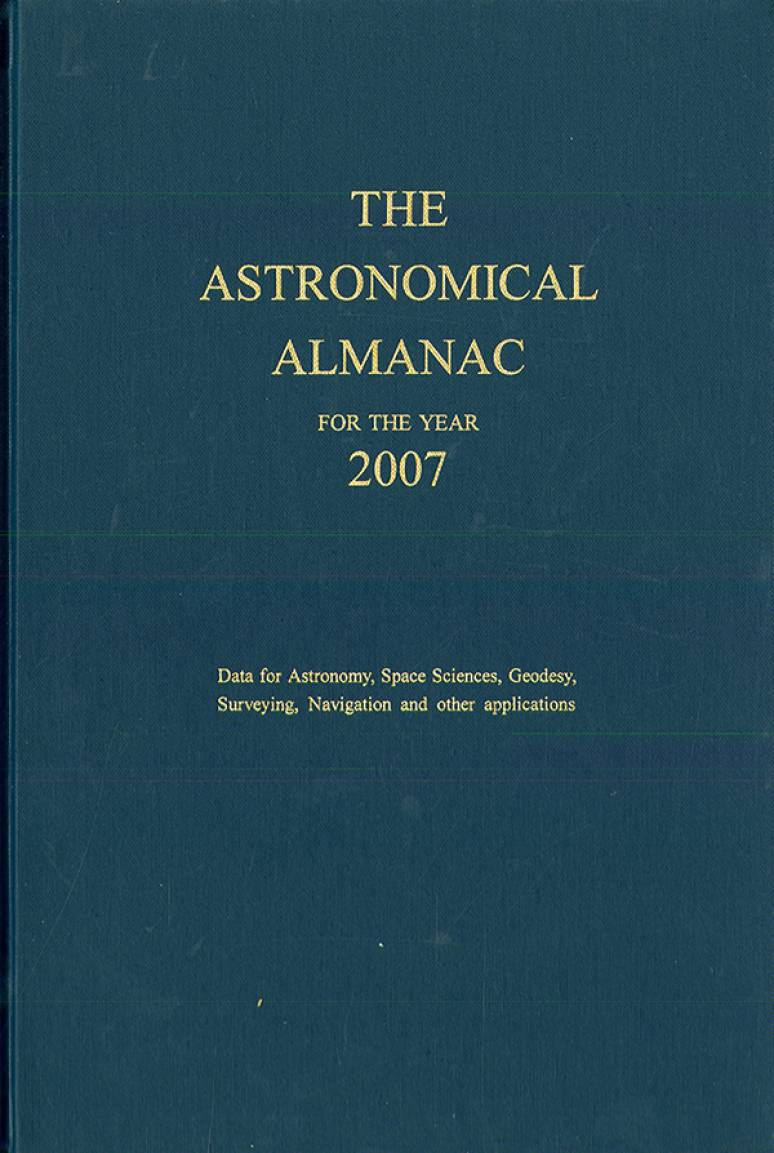 Astronomical Almanac 2007