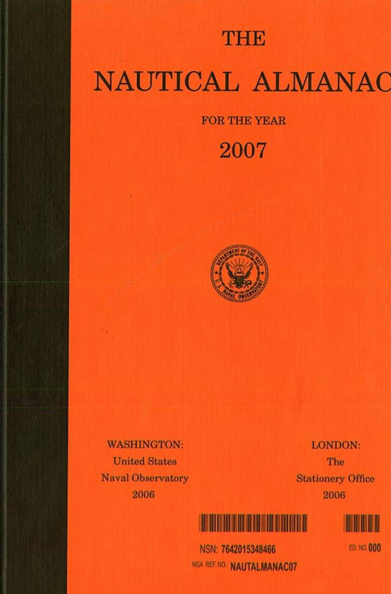 Nautical Almanac for the Year 2007
