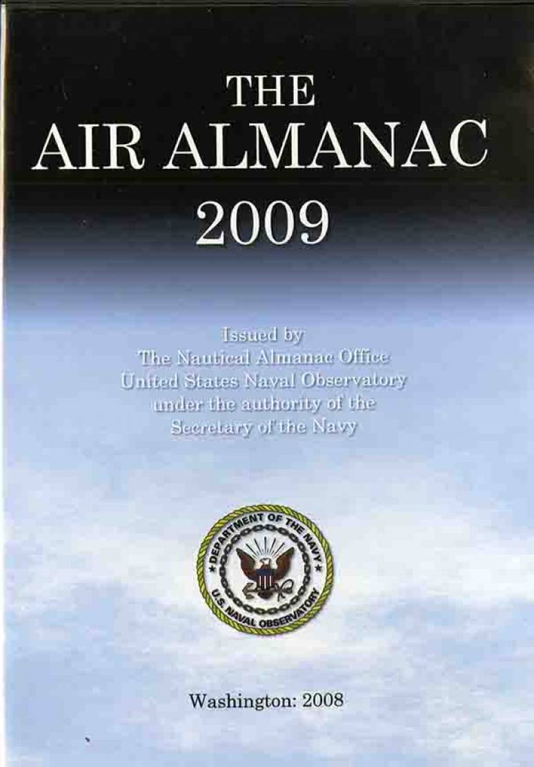 The Air Almanac 2009 (CD-ROM)