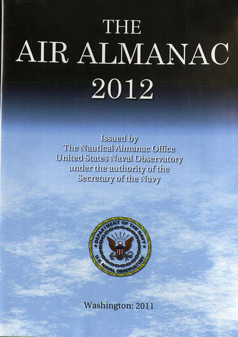 The Air Almanac 2012 (CD-ROM)