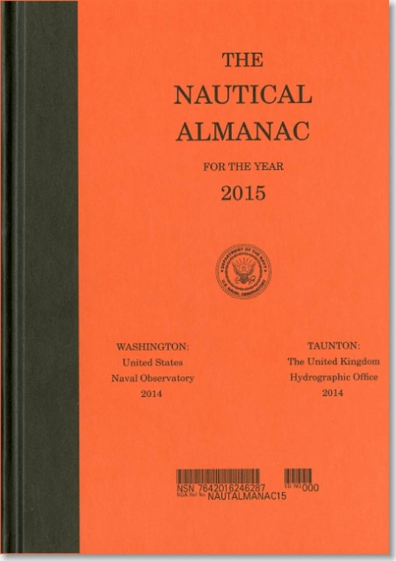 Nautical Almanac for the Year 2015