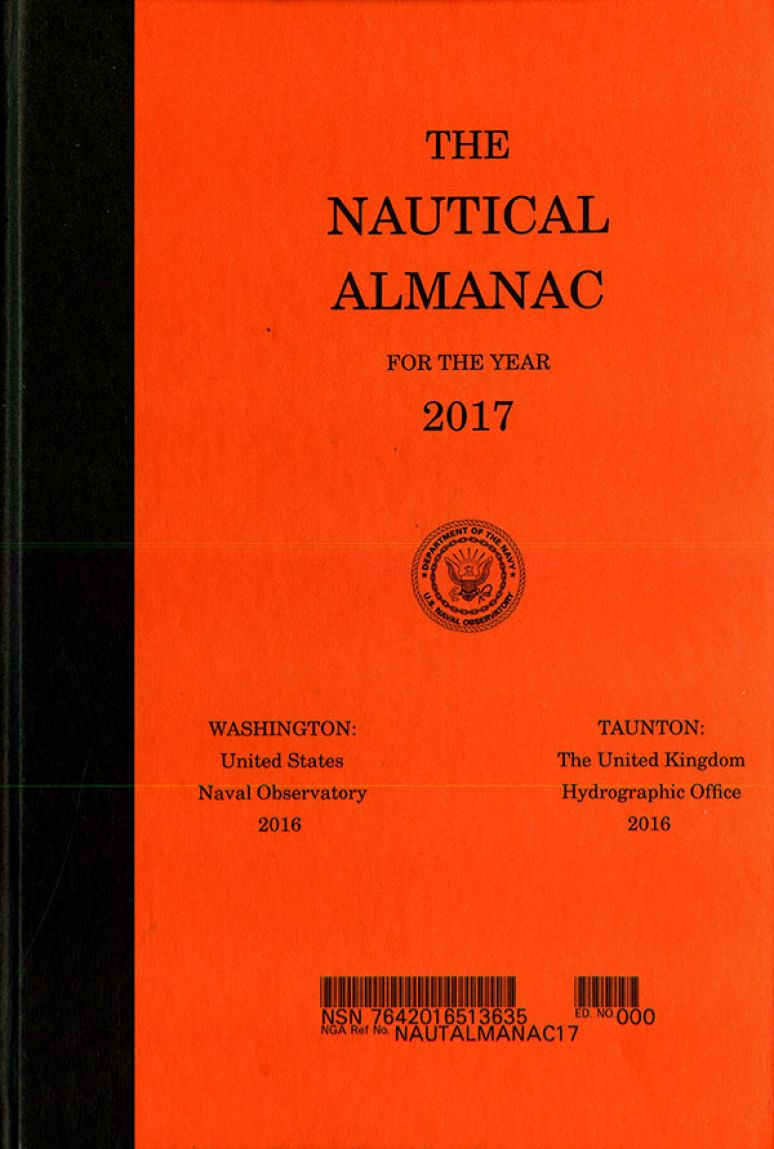 The Nautical Almanac for the Year 2017