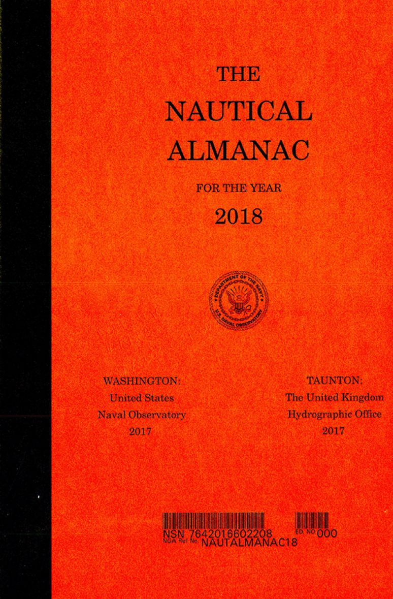 The Nautical Almanac for the Year 2018