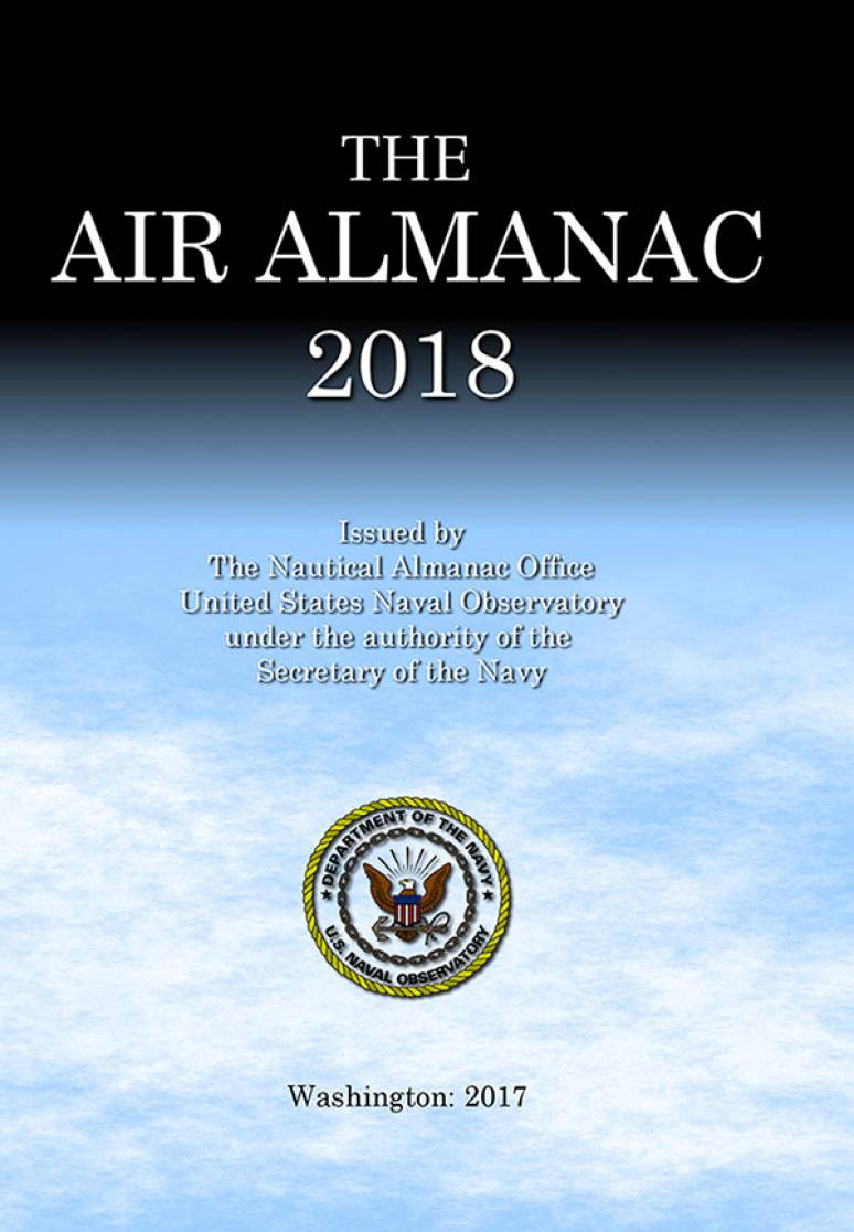 The Air Almanac 2018 (CD-ROM)