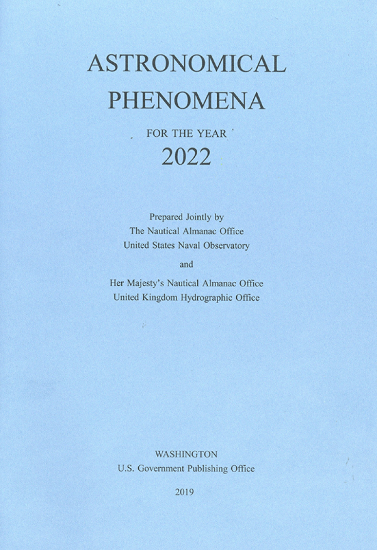 Astronomical Phenomena For The Year 2022