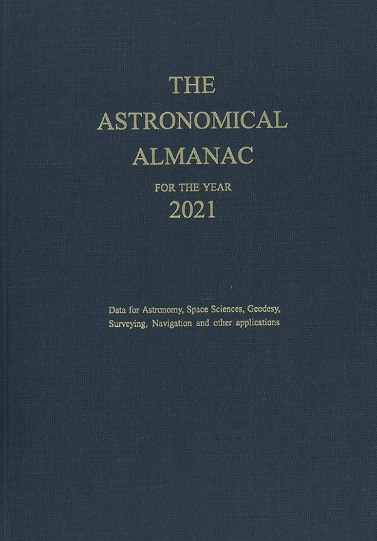 Astronomical Almanac For The Year 2021