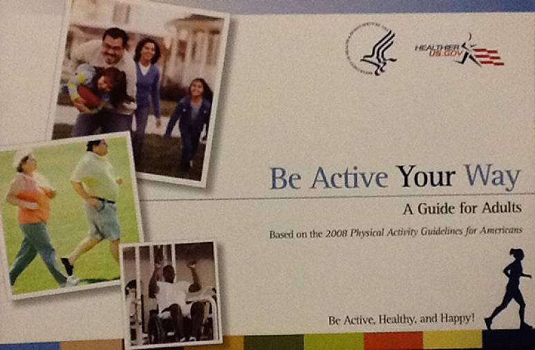 Be Active Your Way: A Guide for Adults