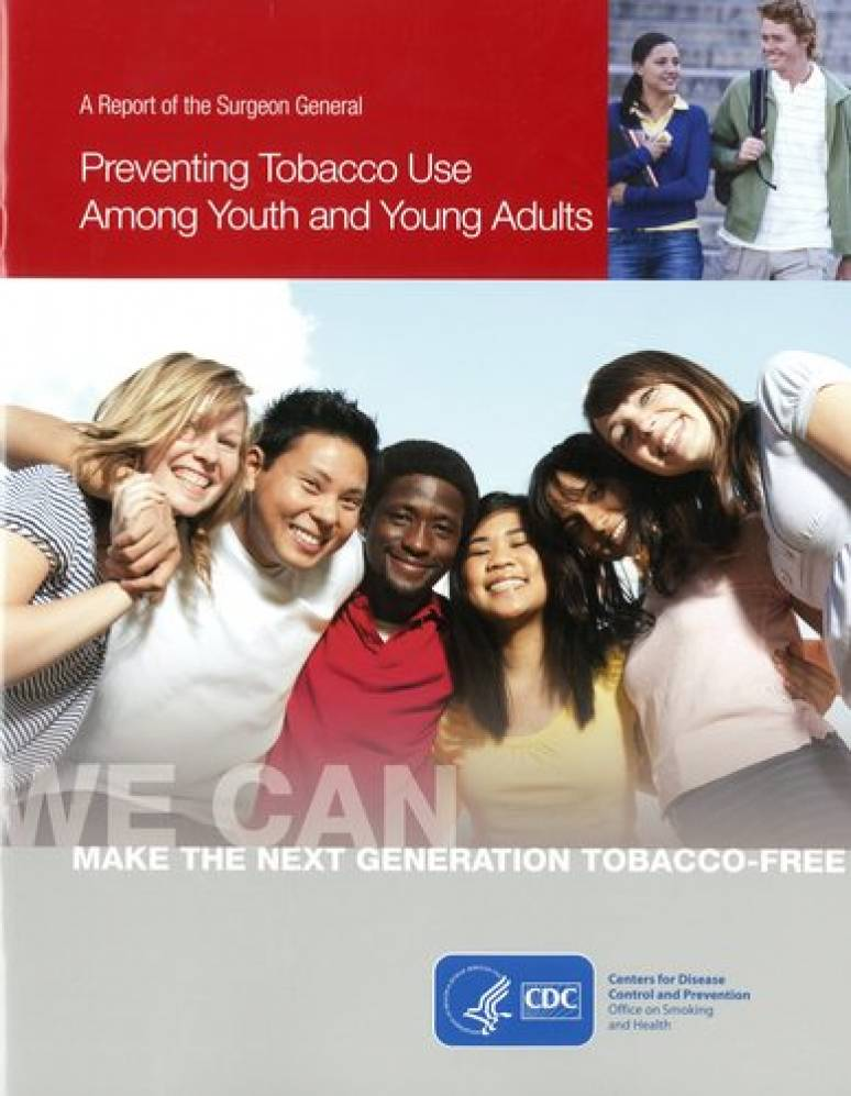 Preventing Tobacco Use Among Youth and Young Adults: A Report of the Surgeon General (Three Volume Set)
