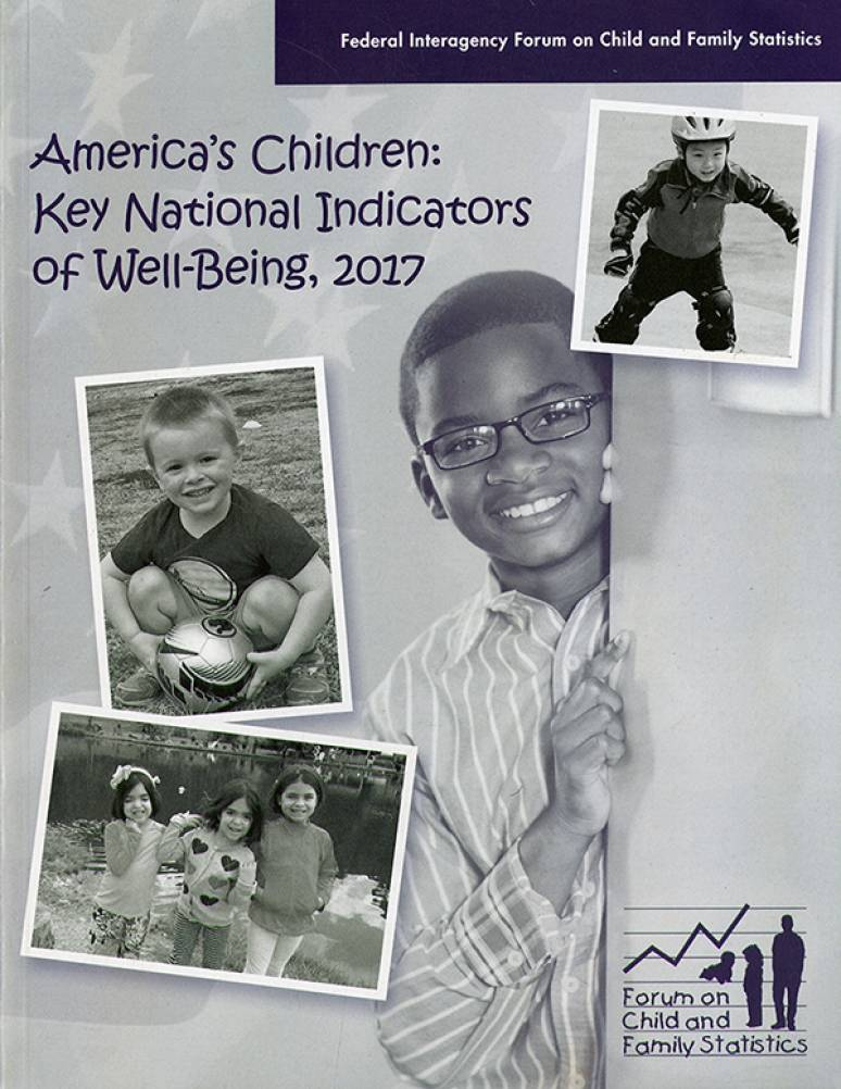 America's Children: Key National Indicators of Well-Being, 2017