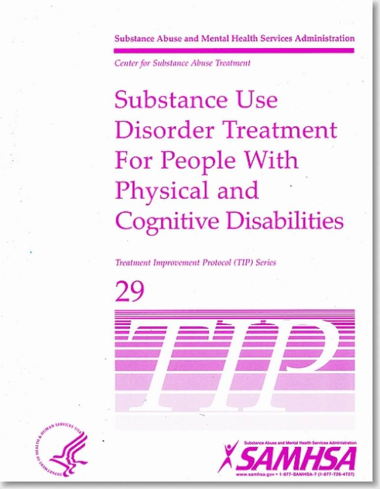 Substance Use Disorder Treatment for People With Physical and Cognitive Disabilities
