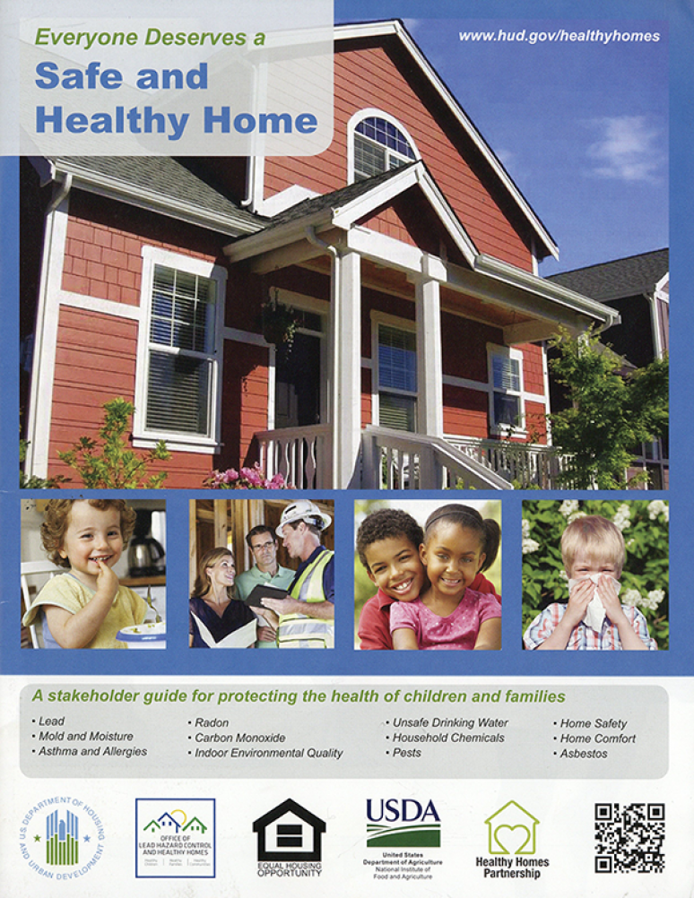 Everyone Deserves a Safe and Healthy Home: A Stakeholder Guide for Protecting the Health of Children and Families