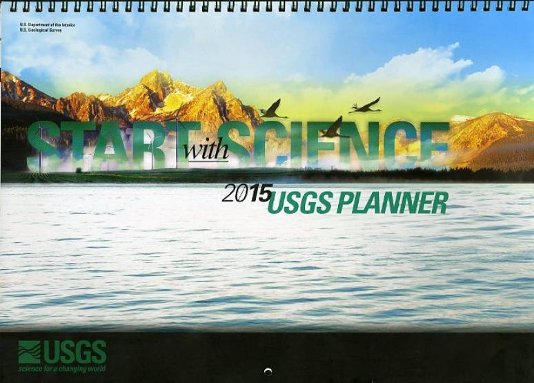 Start With Science: USGS Planner 2015