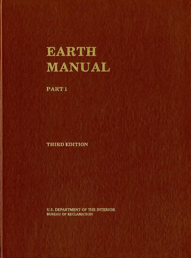 Earth Manual Part 1 U S Government Bookstore