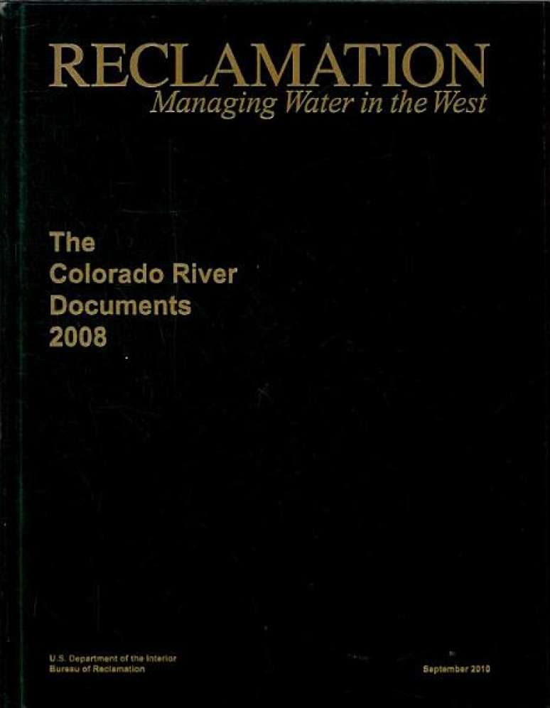 Colorado River Documents 2008 (Hardcover and DVD)