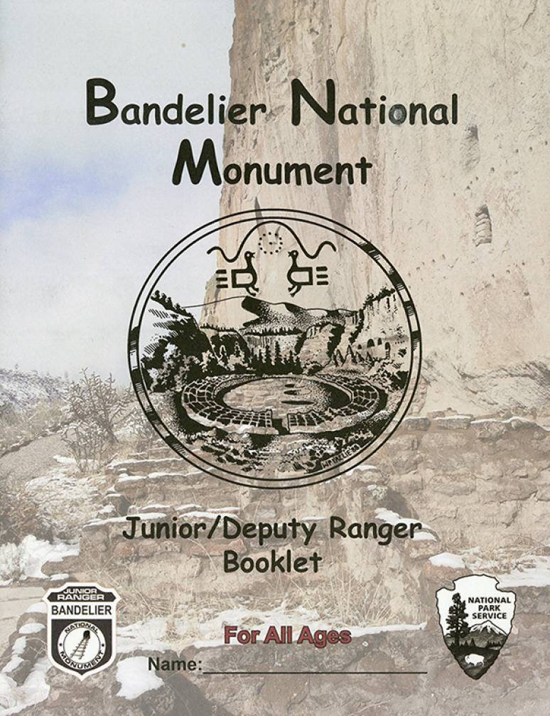 Bandelier National Monument Junior/Deputy Ranger Booklet for All Ages