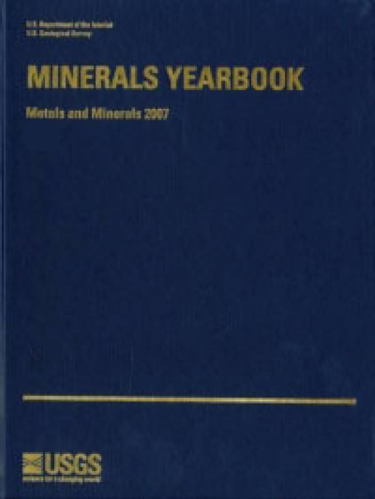 Minerals Yearbook, 2008, V. 1, Metals and Minerals