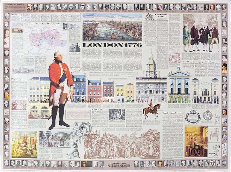 London, 1776 (Poster)