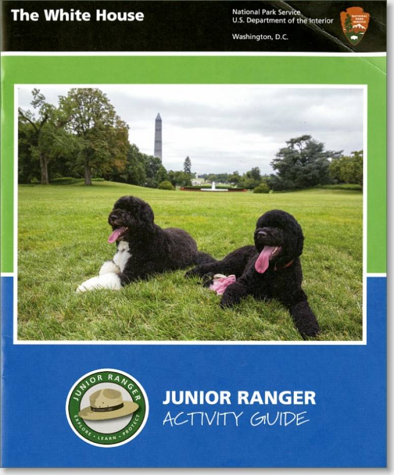 The White House Junior Ranger Activity Guide Book