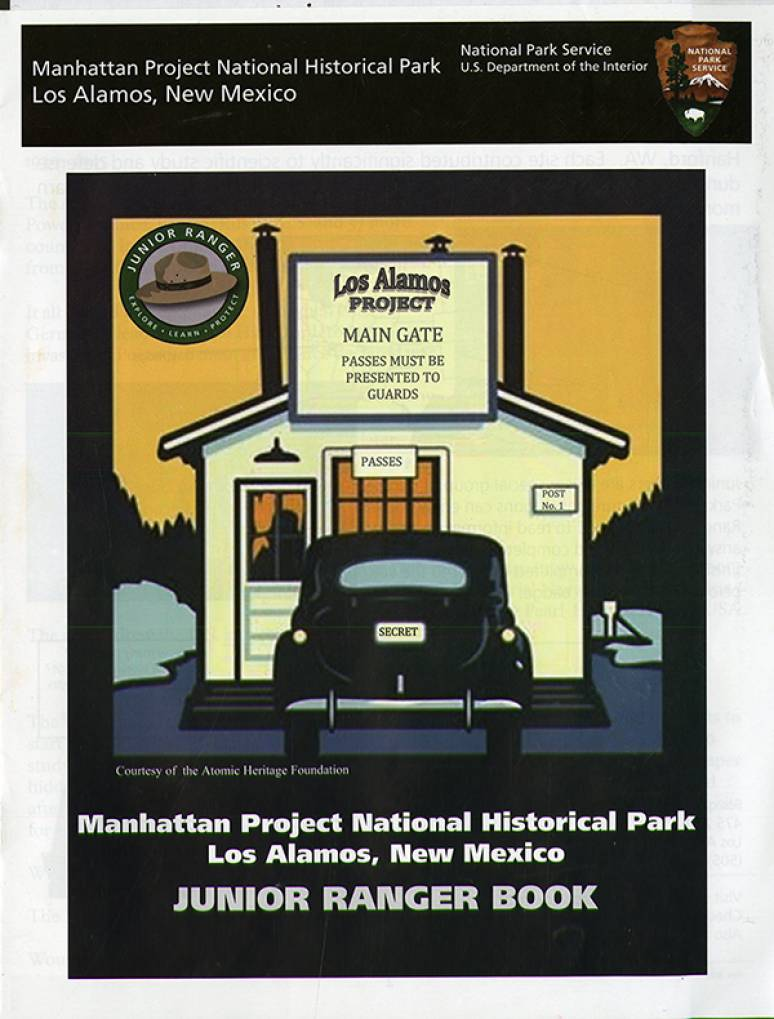 Manhattan Project National Historical Park, Los Alamos, New Mexico: Junior Ranger Book