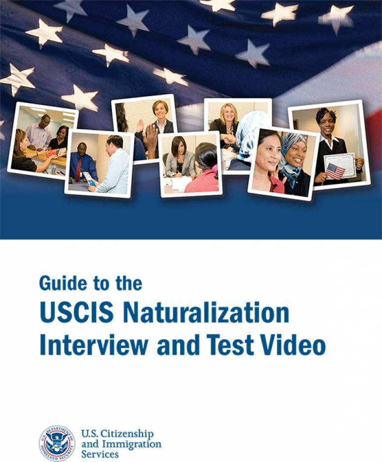 The USCIS Naturalization Interview And Test (DVD)