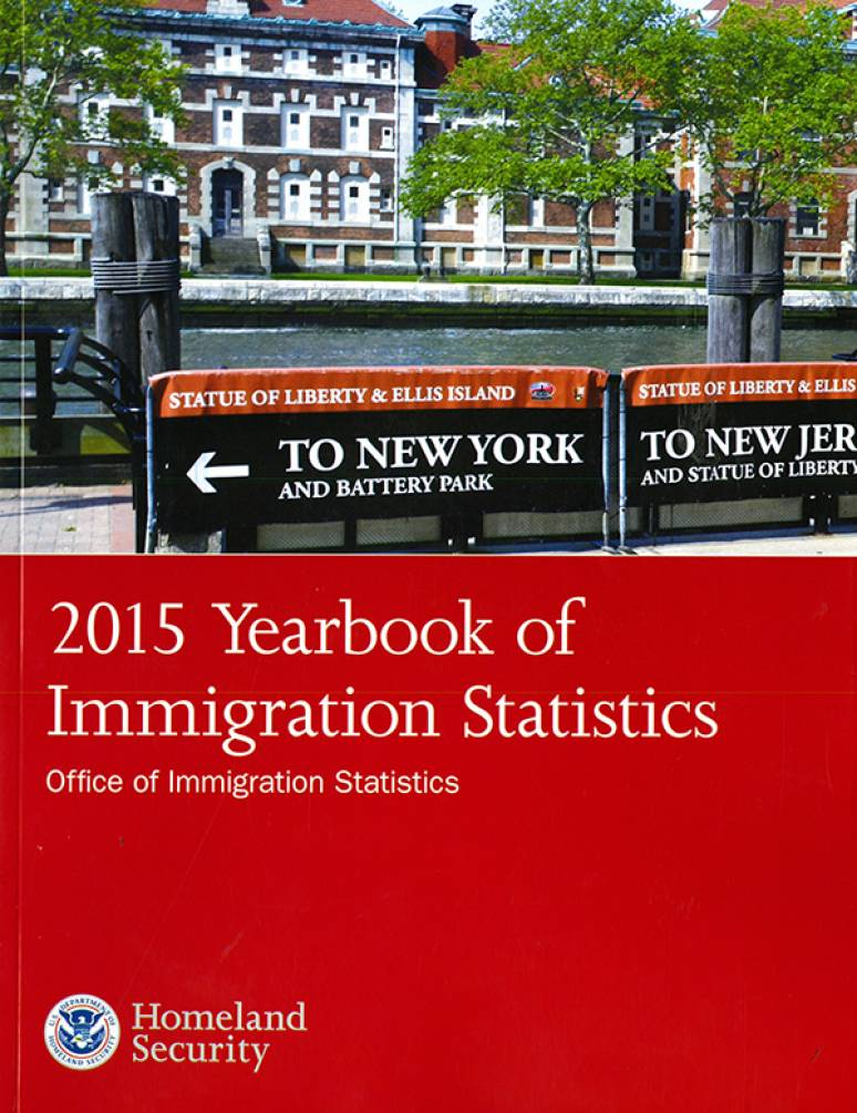 2015 Yearbook of Immigration Statistics