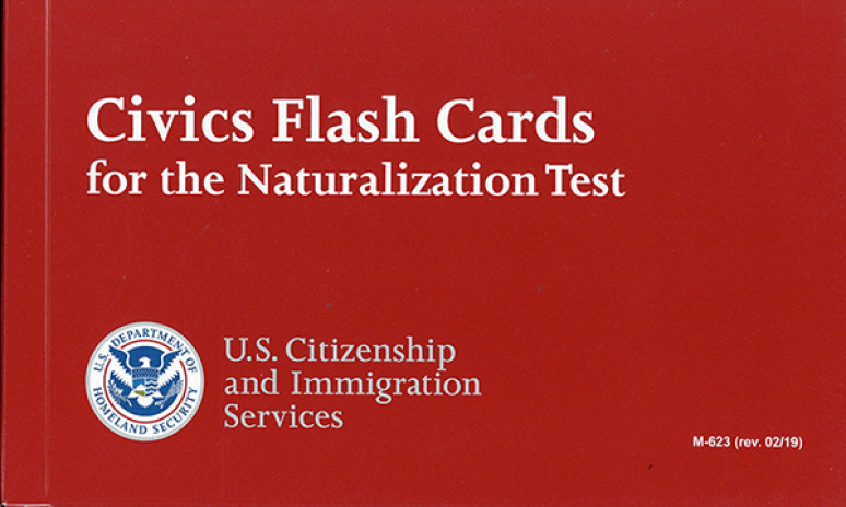 Civics Flash Cards for the Naturalization Test (English Version)