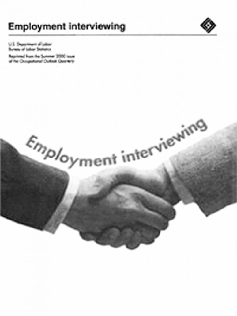 Employment Interviewing: Seizing the Opportunity and the Job (ePub eBook)