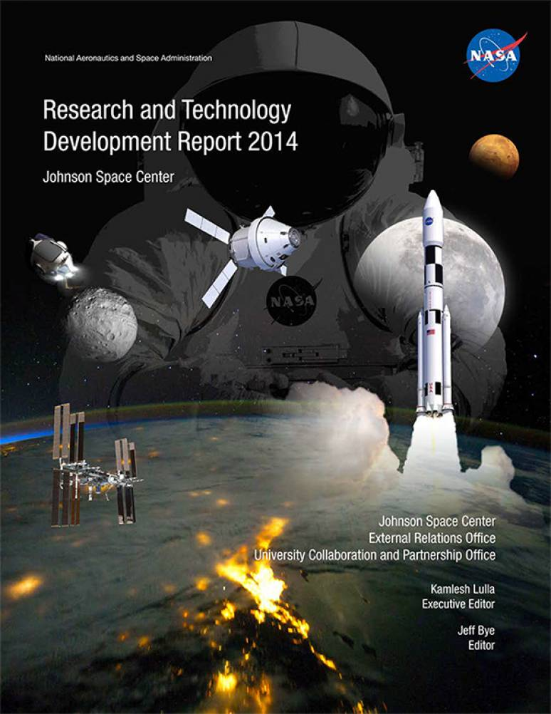 Research and Technology Development Report 2014: Johnson Space Center