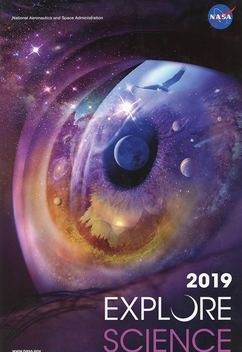 2019 Explore Science NASA (Calendar)