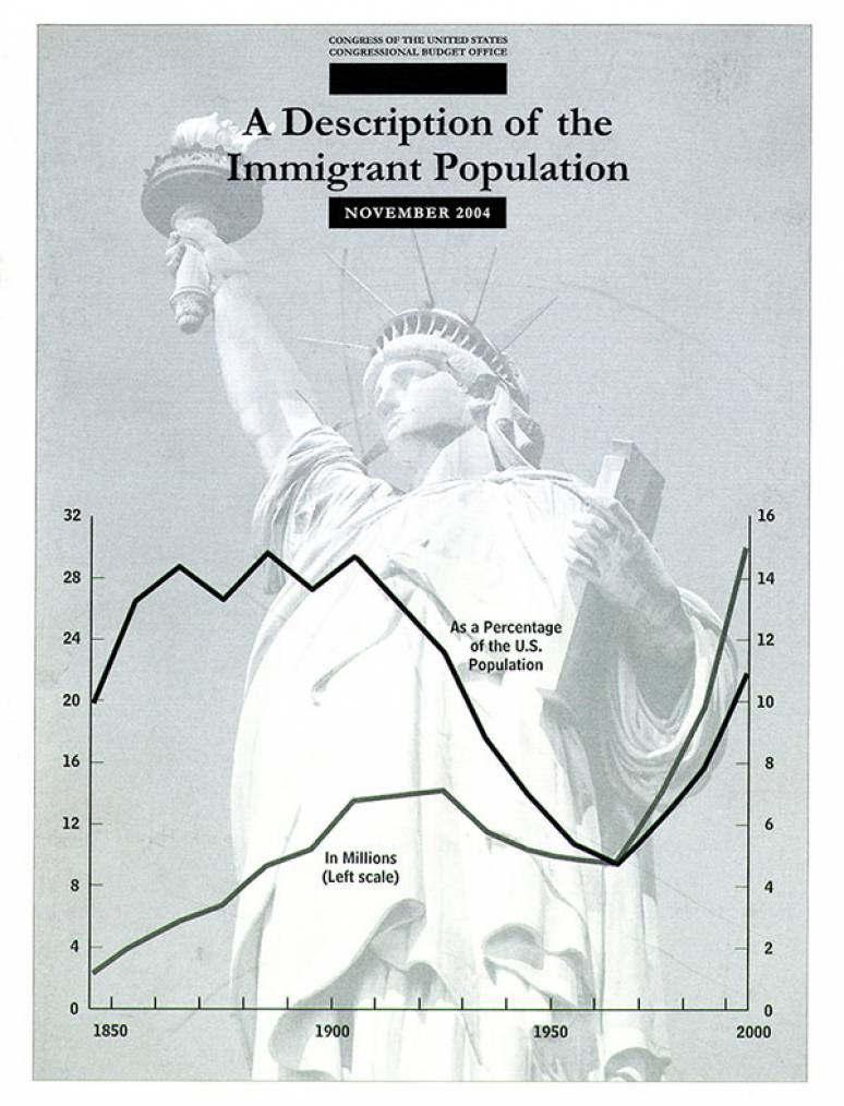 Description of the Immigrant Population, November 2004