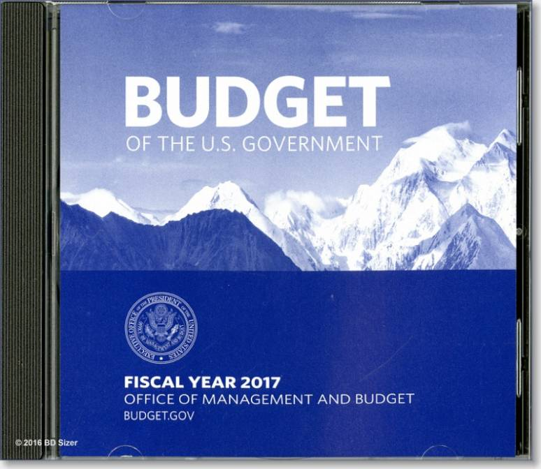 Budget of the U.S. Government, Fiscal Year 2017 (CD-ROM)