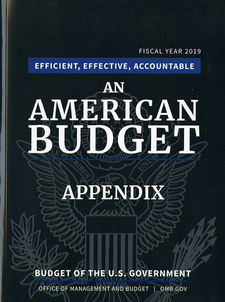 Appendix, Budget Of The United States Government 2019